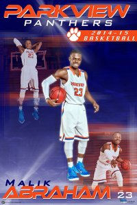 Digital - Basketball - 2015 Parkview High School Individual Posters