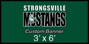 Banner - Strongville Mustangs Swim Team