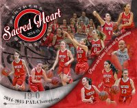 Collage - Sacred Heart Panthers Basketball - Final