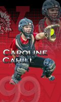 Banner - Stebbins High School Senior Softball Players