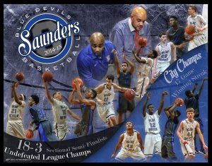 Collage - Saunders High School Basketball - Final