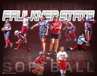 Print - 2015 Faulkner State Softball Collage