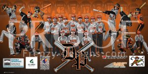 Banner - Dream Park Bsaeball Team 11U Black