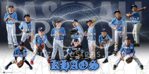 Print - KHAOS Baseball Team