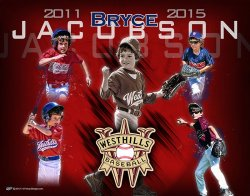 Poster - Bryce Jacobson - Baseball