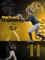 Posters - 2015 Calera Bulldogs Senior Athletes - Michael Trammell