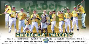 Print - Metro East Velocity Baseball Team