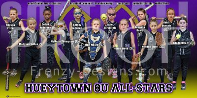 Print - Hueytown 8U Softball All Stars