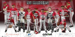 Banner - 9U Alpharetta Raiders Baseball Team 1x2