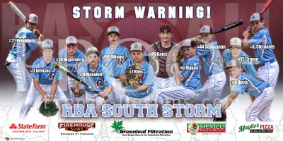 Print - RBA South Storm 12U Baseball Team