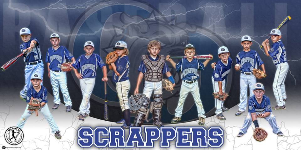 Custom Baseball Team Banner - Rawlings Memphis Prospects