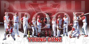 Print - 2015 Young Gunz Baseball Team