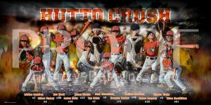 Print - 2015 Orange Crush Baseball Team