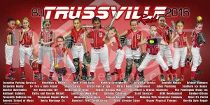 Print - Trussville 8U All-Stars Softball Team