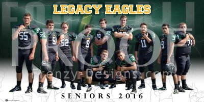 Digital - Legacy Christian Academy Football Seniors