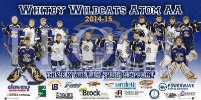 Banner - East Enders Ticats Hockey Team