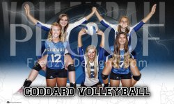 Digital - Goddard High School Volleyball Seniors