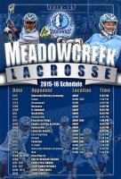 Schedule - Meadowcreek High School Girls Lacrosse Schedules