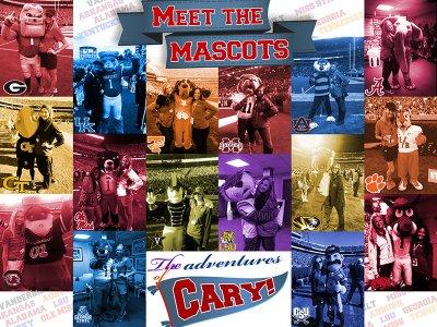 Poster - Meet The Mascots