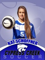 Banner - Cypress Creek High School Soccer Player