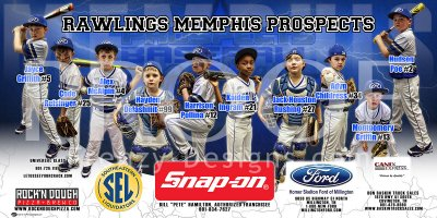 Print - Rawlings Memphis Prospects Baseball Team
