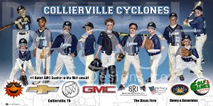 Print - Collierville Cyclones Baseball Team