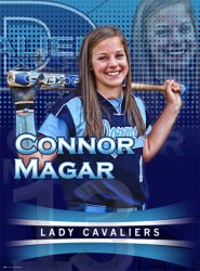 Poster - Allentown Central Catholic Softball Senior