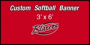 Banner - Blazers Fastpitch 13U Softball Team