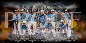 Print - 2016 Colorado KHAOS Baseball Team