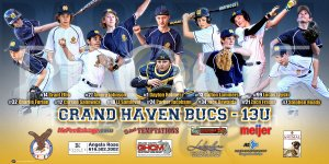Print - 2016 Grand Haven Bucs Baseball Team