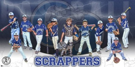 Banner -  Beach Bulldogs Baseball Team