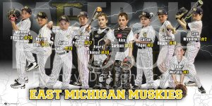 Print - East Macomb Muskies Baseball Team