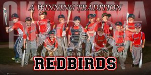Print - Oklahoma Redbirds Baseball Team