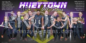 Banner - 2016 Hueytown All-Stars 10U Softball Team