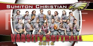 Banner - 2016 Sumiton Christian Softball Team