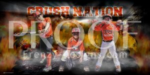 Print -  Crush Nation Baseball Players