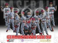 Banner - Germantown Sox 9U Baseball Team - 3x4