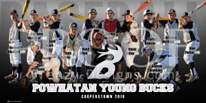 Banner - Powhatan Young Bucks Baseball Team