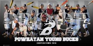 Banner - Powhatan Young Bucks Baseball Team