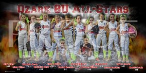 Digital - Ozark 8U All-Stars Softball Team