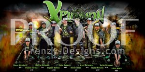 Banner - Diamond Elite Black 12U Baseball