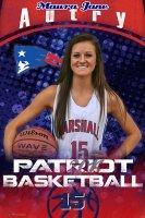 Banner - 2016-17 Marshall Academy Seniors - Basketball