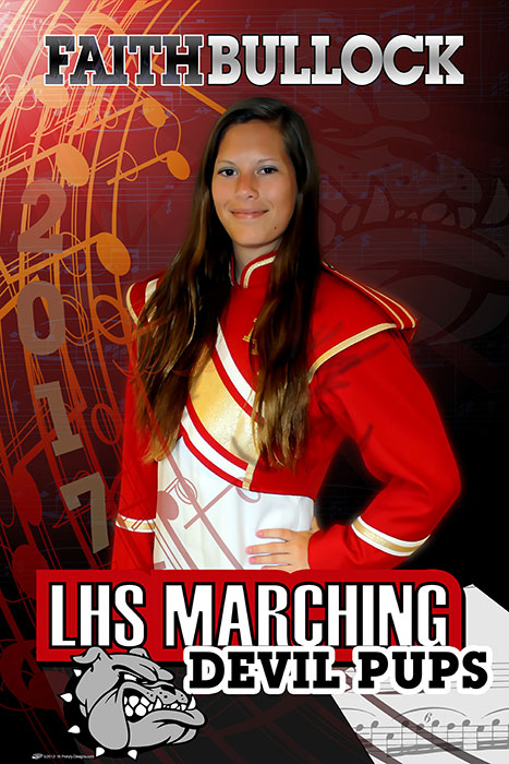 Custom Senior Band Banners - Howard High School
