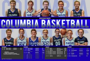 Schedule - Columbia High School 2016-17 Basketball Schedule
