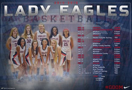Schedule - YMA Eagles Girls Basketball