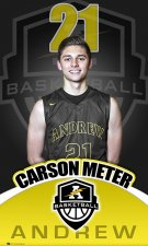 Banner - Andrew High School Senior Basketball Player