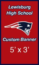 Banner - Lewisburg Patriots Baseball Banners