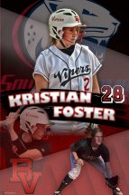Banner - Birmingham Vipers Senior Softball Player
