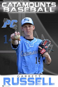 Banner - 2017 Panther Creek Catamounts Senior Baseball Players