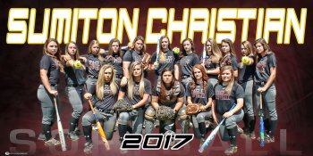 Banner - 2017 Sumiton Christian Softball Team
